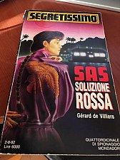Buy Italian book Segretissimo n.1207 SAS Soluzione rossa libro