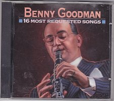 Buy 16 Most Requested Songs by Benny Goodman CD 1993 - Very Good