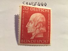 Buy Germany Welfare famous Johann Oberlin mnh 1954