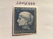Buy Germany Welfare famous Bertha Pappenheim mnh 1954