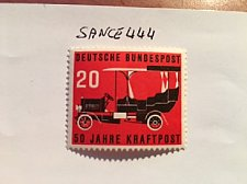 Buy Germany Gaggenau Postal car mnh 1955