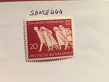 Buy Germany Refugees from East mnh 1955