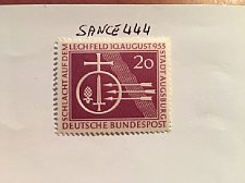 Buy Germany Lechfeld battle mnh 1955