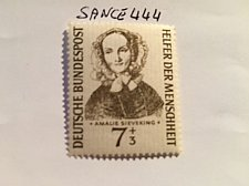 Buy Germany Welfare Amelie Sieveking mnh 1955