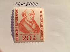 Buy Germany Welfare Samuel Hahnemann mnh 1955