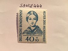 Buy Germany Welfare Florence Nightingale mnh 1955