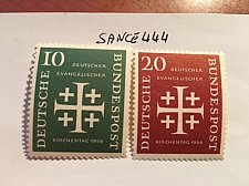 Buy Germany Evangelic day mnh 1956