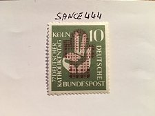 Buy Germany Catholic day mnh 1956