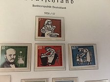 Buy Germany Welfare mnh 1956
