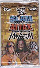 Buy WWE Slam Attax - Mayhem - Brand New Factory Sealed Pack