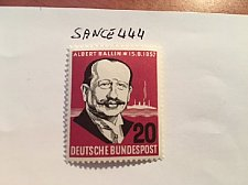 Buy Germany Albert Ballin mnh 1957
