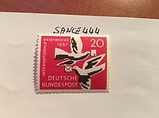 Buy Germany International letter week mnh 1957