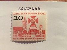 Buy Germany Trier market place mnh 1958