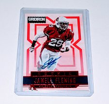 Buy NFL Jamell Fleming Cardinals Panini Gridiron AUTO RC MNT