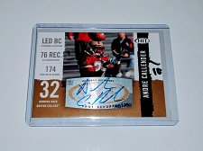 Buy NFL Andre Callender Sage Hit Gold AUTO RC MNT