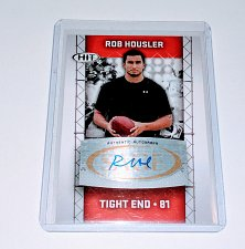 Buy NFL Rob Housler Sage Hit AUTO RC MNT