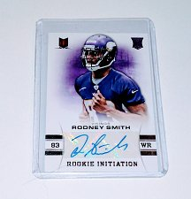 Buy NFL Rodney Smith Vikings Panini Momentum AUTO RC/299 MNT