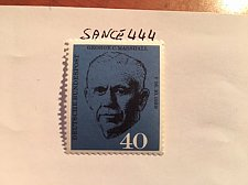 Buy Germany G. C. Marshall mnh 1960