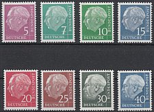 Buy Germany Heuss fluorescent mnh 1960