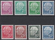 Buy Germany Heuss fluorescent mnh 1960