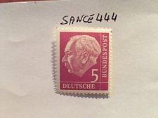 Buy Germany Definitive Heuss 5p mnh 1960