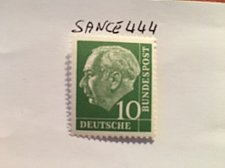 Buy Germany Definitive Heuss 10p mnh 1960