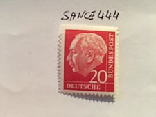 Buy Germany Definitive Heuss 20p mnh 1960