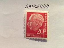 Buy Germany Definitive Heuss 20p mnh 1960