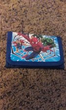 Buy Spiderman Blue Wallet New Free Shipping