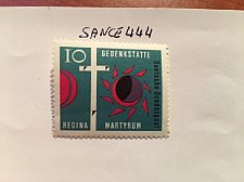 Buy Germany Regina martyrdom mnh 1963