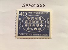 Buy Germany Postal conference mnh 1963