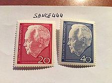 Buy Germany President Lubke mnh 1964