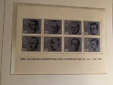 Buy Germany Resistance s/s mnh 1964
