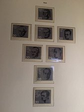 Buy Germany Resistance Leaders mnh 1964