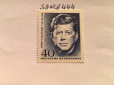 Buy Germany J. F. Kennedy mnh 1964