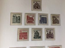 Buy Germany Definitives Architecture 8v mnh 1966