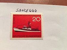 Buy Germany Sea life saving service mnh 1965