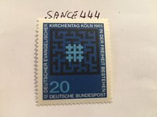 Buy Germany Evangelic day mnh 1965