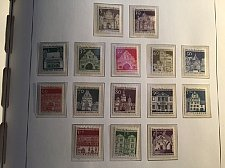 Buy Germany Definitives Architecture Buildings 15v mnh 1966