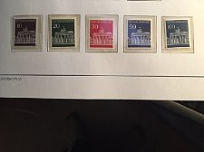 Buy Germany Definitives Buildings mnh 1966