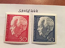 Buy Germany President Lubke mnh 1967