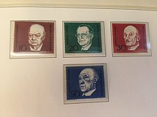 Buy Germany Konrad Adenauer mnh 1967