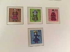 Buy Germany Welfare Dolls mnh 1968