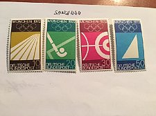 Buy Germany Olympic Games Munich 1972 mnh 1969