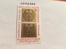 Buy Germany 20 years Federal republic mnh 1969