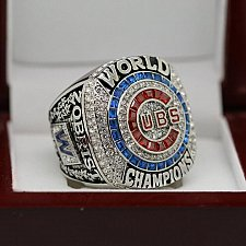 Buy 2016 Chicago Cubs MLB World Series Championship Solid Copper Ring 8-14 Size ZOBRIST