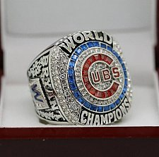 Buy 2016 Chicago Cubs MLB World Series Championship Solid Copper Ring 8-14 Size BRYANT