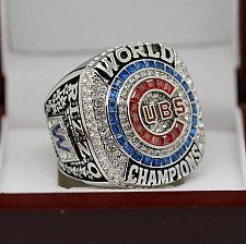 Buy 2016 Chicago Cubs MLB World Series Championship Solid Copper Ring 8-14 Size RIZZO