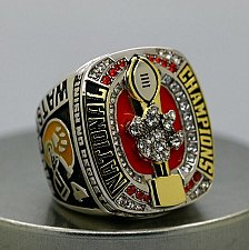 Buy 2016 Clemson Tigers NCAA National Championship Copper Ring 8-14Size Back Solid Gift