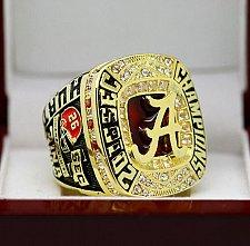 Buy 2016 Alabama Crimson Tide SEC National Championship Copper Solid Ring 8-14Size Gift